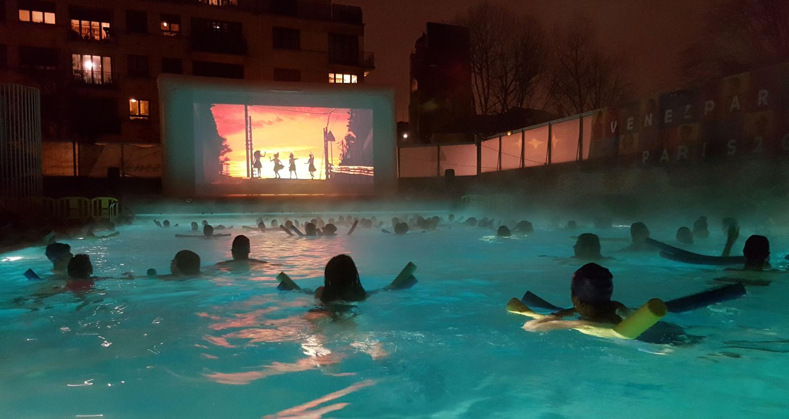 cinéma piscine à Paris