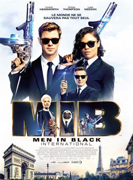 Cinéma en plein air Men in Black International