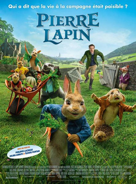Cinéma en plein air Pierre Lapin